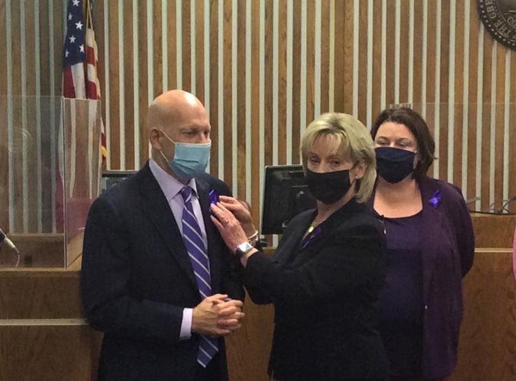 Purple Ribbon Event – National Crime Victims' Rights Week 2021
