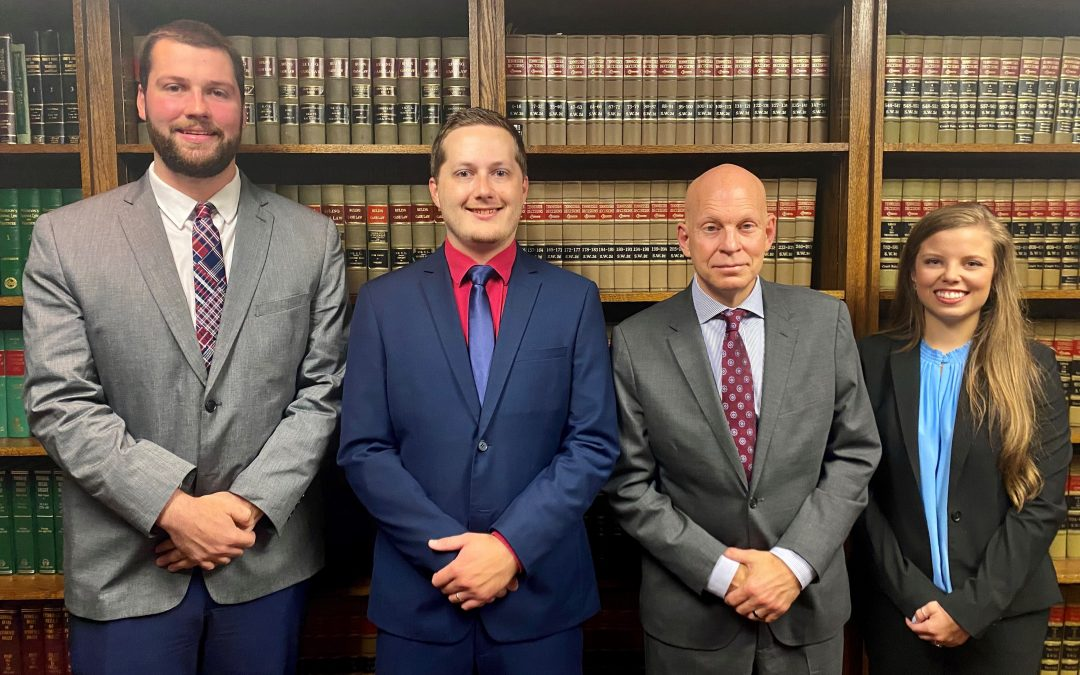 We have three law school students this year in our summer internship program